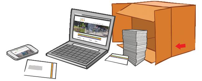 The Businessbox - Een unieke huisstijl en een heldere website.